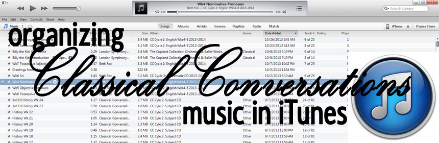 classical conversations music itunes