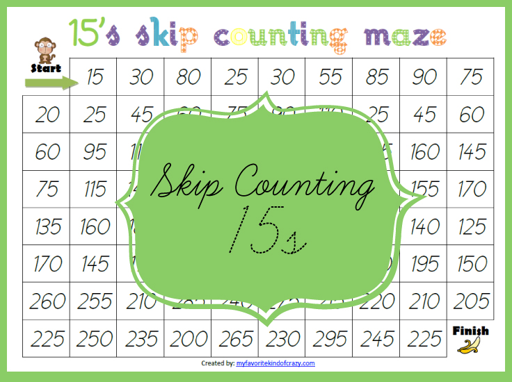 More Skip Counting - Layers of Learning