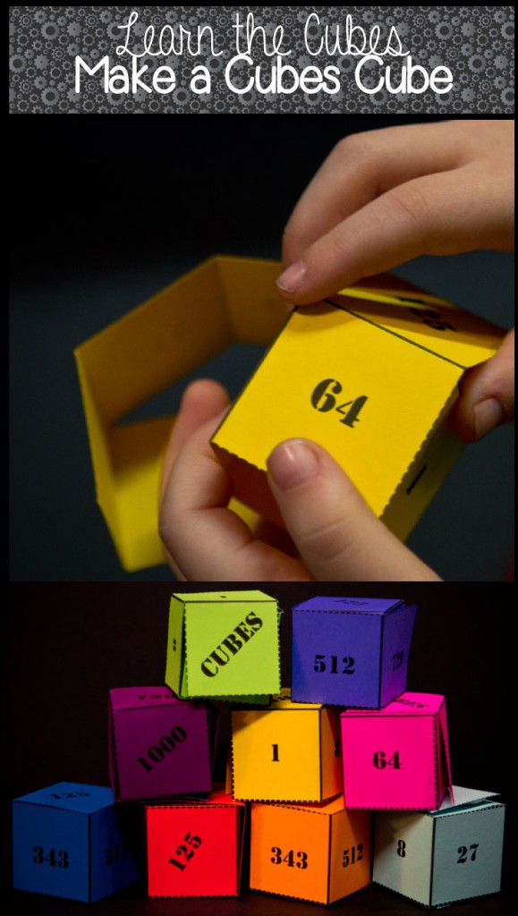 Learn Math Cubes Classical Conversations