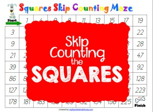 Skip Counting Squares