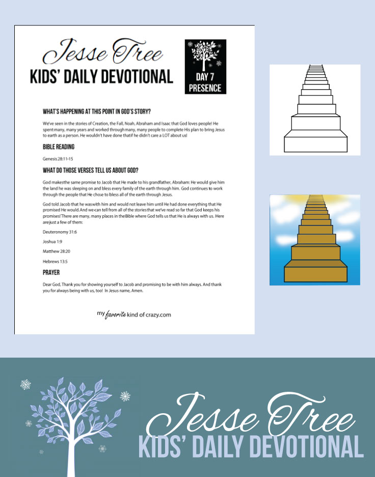 Daily Devotion for Children Jesse Tree Advent