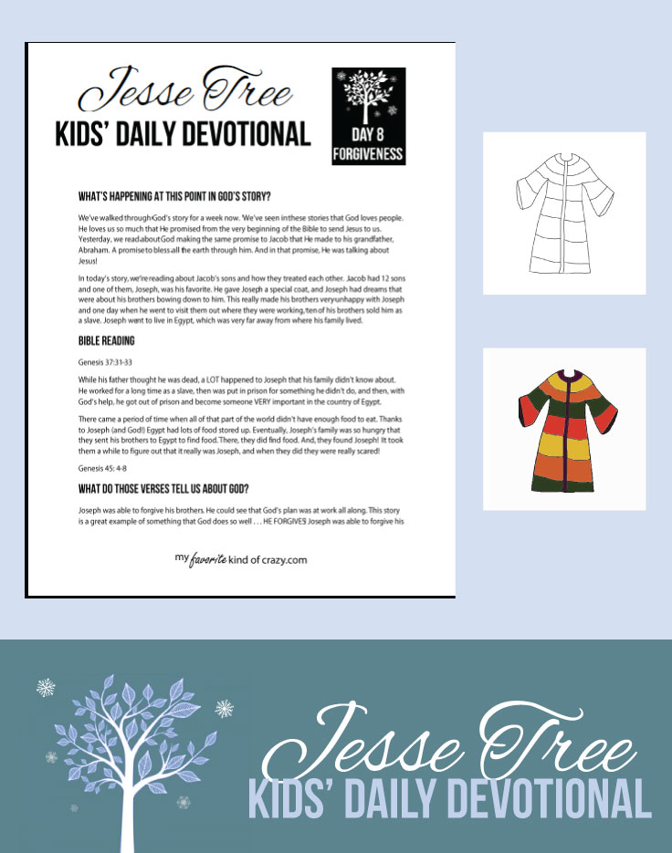 photo about Printable Devotions identified as CKBD: Jesse Tree Working day 8