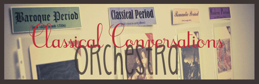 Classical Conversations Orchestra