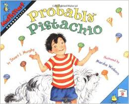 Entertaining book about probability for elementary-aged kids!