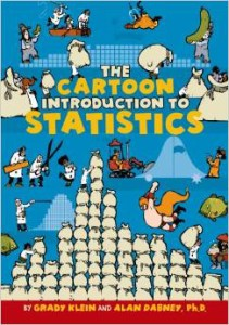 A fun book for older elementary kids to learn about statistics!